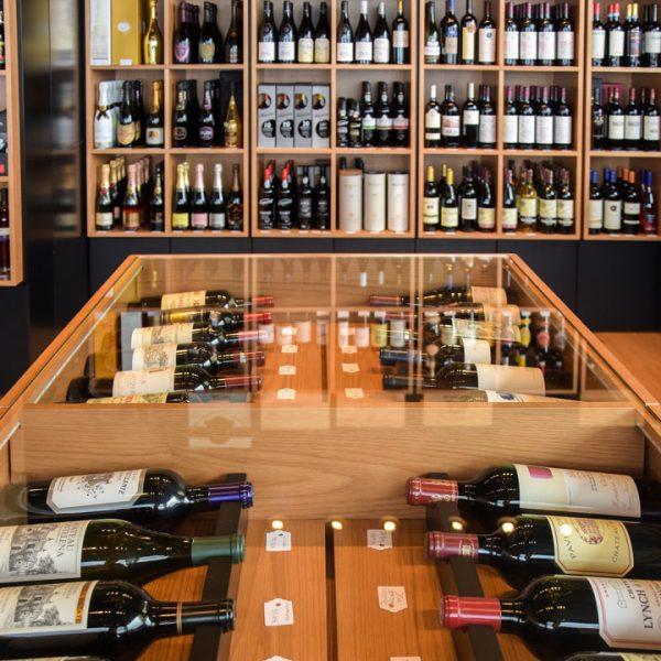 Garrafeira Foz Gourmet interior balcão central