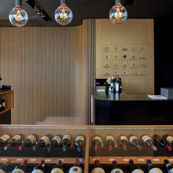 Garrafeira Foz Gourmet interior entrada